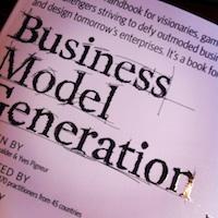 business modellen maken mbv boek