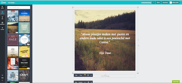 quotes maken instagram
