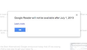 oplossing google reader