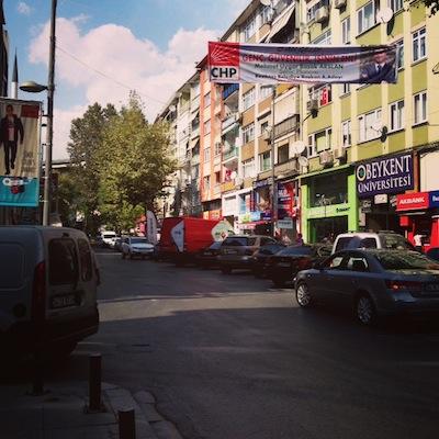 straat istanboel
