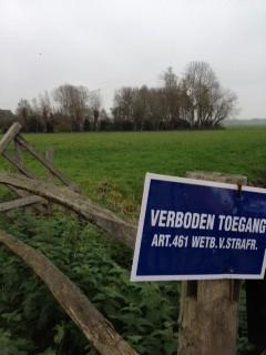 verboden toegang